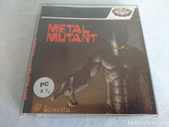 JUEGO PC/METAL MUTANT/SILMARILS. (Juguetes - Videojuegos y Consolas - PC)