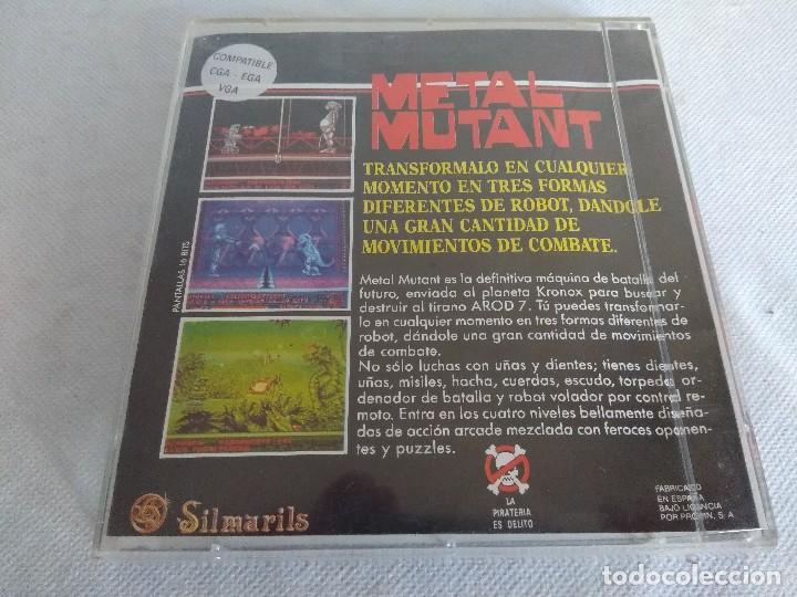 Videojuegos y Consolas: JUEGO PC/METAL MUTANT/SILMARILS. - Foto 2 - 113562587