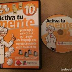 Videojuegos y Consolas: ACTIVA TU MENTE 10 PC JUEGO KREATEN. Lote 113618439