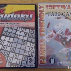 Videojuegos y Consolas: JUEGOS PC CD-ROM SUDOKU Y CARD GAMES. . Lote 113724871