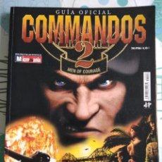 Videojuegos y Consolas: GUÍA OFICIAL COMMANDOS 2. Lote 114326967