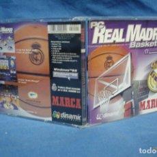 Videojuegos y Consolas: - PC REAL MADRID BASKET ´99 - DINAMIC/ MARCA 1998. Lote 221122011