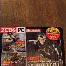 Videojuegos y Consolas: 2 CDS PC MICROMANIA. Lote 114482243