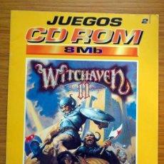 Videojuegos y Consolas: REVISTA JUEGOS CD ROM PLANETA DEAGOSTINI - WITCHAVEN II Y HEROES OF MIGHT AND MAGIC. Lote 114504327