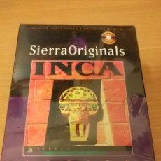 Videojuegos y Consolas: JUEGO PC INCA . AVENTURA GRAFICA . SIERRA . COKTEL EDUCATIVE - NUEVO PRECINTADO. Lote 114728263