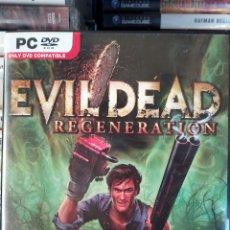 Videojuegos y Consolas: EVIL DEAD REGENERATION PC. Lote 114807099