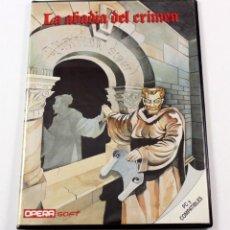 Videojuegos y Consolas: LA ABADIA DEL CRIMEN - PC 5 1/4 Y COMPATIBLES - OPERA SOFT - EN CASTELLANO FUNCIONANDO. Lote 114819099