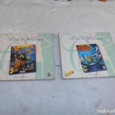 Videojuegos y Consolas: JUEGOS PC MONKEY ISLAND 2 (1991) CLÁSICOS DE LUCAS ARTS (1996) ERBE + REBEL ASSAULT. Lote 114998163