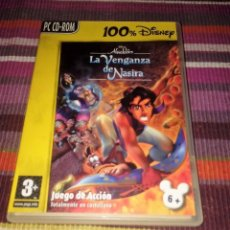 Videojuegos y Consolas: LA VENGANZA DE NASIRA DISNEY ALADDIN PC CD-ROM. Lote 115002151