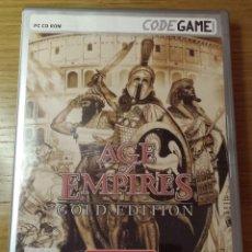 Videojuegos y Consolas: AGE OF EMPIRES - GOLD EDITION. Lote 115006679