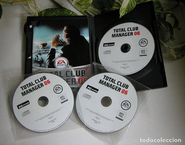 Videojuegos y Consolas: JUEGO PARA PC TOTAL CLUB MANAGER 06 PERFECTO ESTADO Y COMPLETO TOTALMENTE EN CASTELLANO - Foto 2 - 115245243