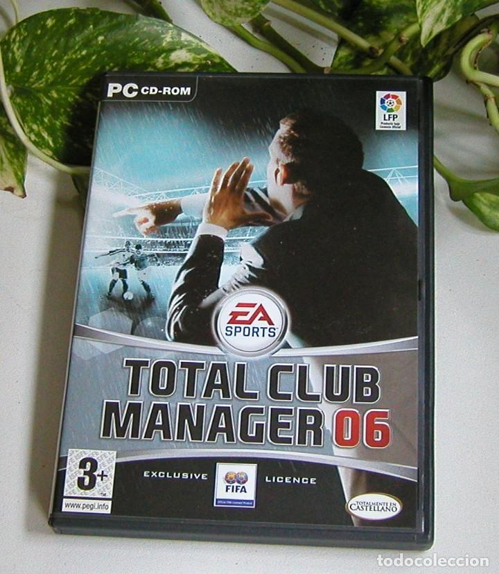 Videojuegos y Consolas: JUEGO PARA PC TOTAL CLUB MANAGER 06 PERFECTO ESTADO Y COMPLETO TOTALMENTE EN CASTELLANO - Foto 3 - 115245243