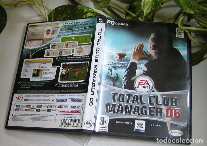 Videojuegos y Consolas: JUEGO PARA PC TOTAL CLUB MANAGER 06 PERFECTO ESTADO Y COMPLETO TOTALMENTE EN CASTELLANO - Foto 5 - 115245243