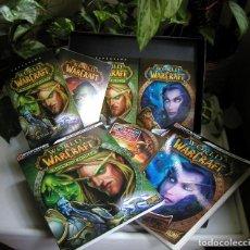 Videojuegos y Consolas: JUEGO PC WORLD OF WARCRAFT BATTLE CHEST PERFECTO EN CAJA ORIGINAL, GUÍAS, MANUALES VER FOTOS. Lote 115340903