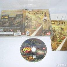 Jeux Vidéo et Consoles: CIVCITY ROMA PC DVD ROM. Lote 115353499