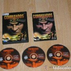 Videojuegos y Consolas: COMMANDOS 2 COMPLETO PC PAL ESPAÑA CASTELLANO. Lote 219055361