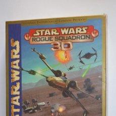 Videojuegos y Consolas: JUEGO PC LUCASARTS STAR WARS ROGUE SQUADRON 3D 2000 SIMULADOR NAVES CAJA CARTÓN CASTELLANO. Lote 115841727