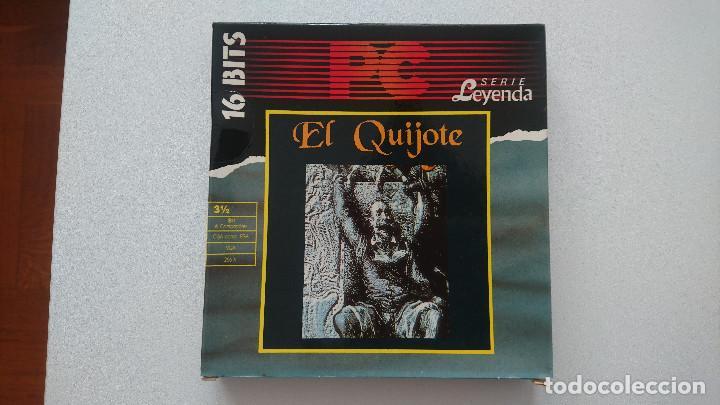 JUEGO EL QUIJOTE PC DINAMIC DISQUETE 3,5 (Juguetes - Videojuegos y Consolas - PC)