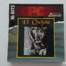 Videojuegos y Consolas: JUEGO EL QUIJOTE PC DINAMIC DISQUETE 3,5. Lote 115871847