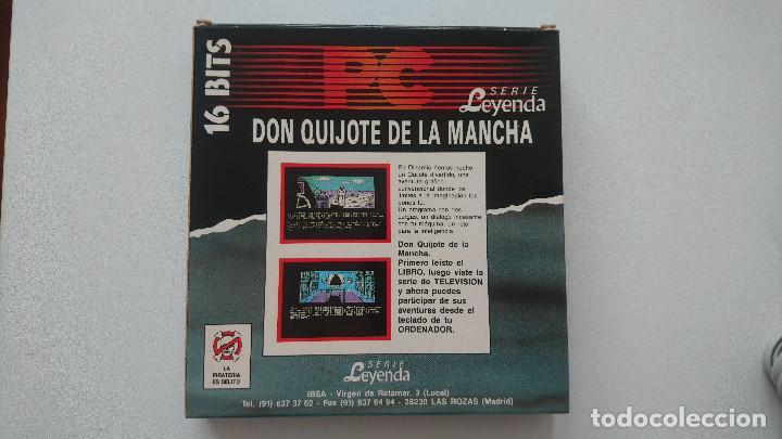 Videojuegos y Consolas: Juego El Quijote PC Dinamic disquete 3,5 - Foto 2 - 115871847