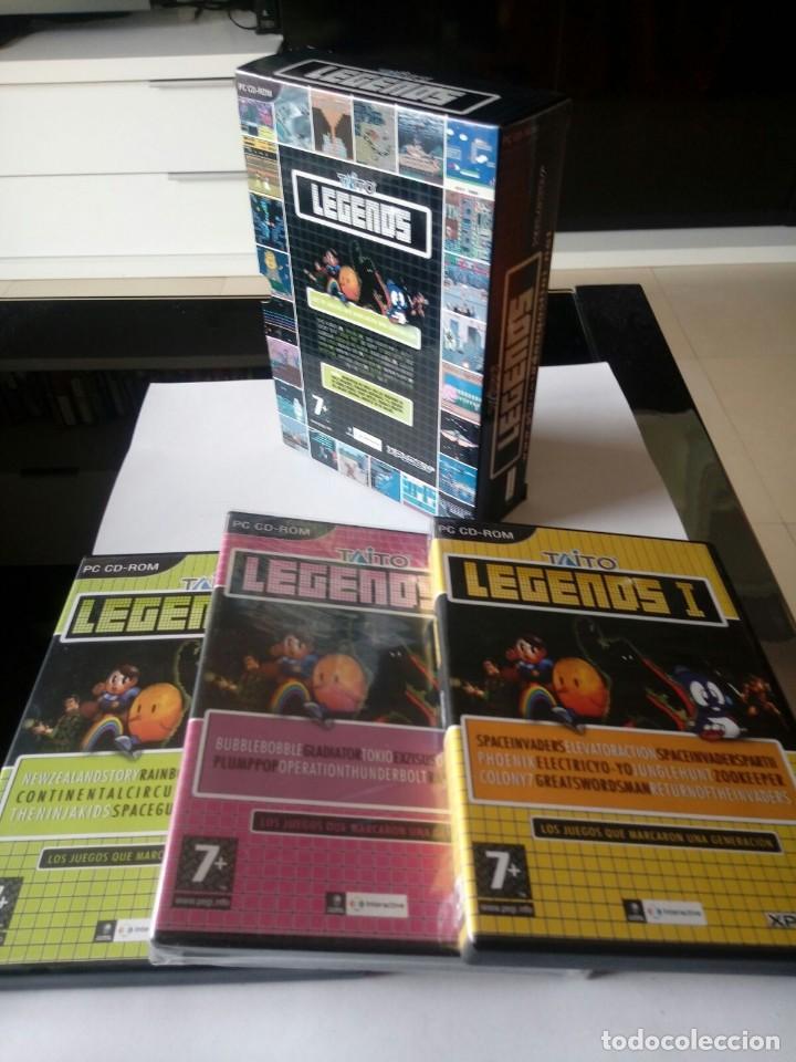 PACK JUEGOS CLASICOS PC. LEGENDS DE TAITO. 2005 (Juguetes - Videojuegos y Consolas - PC)