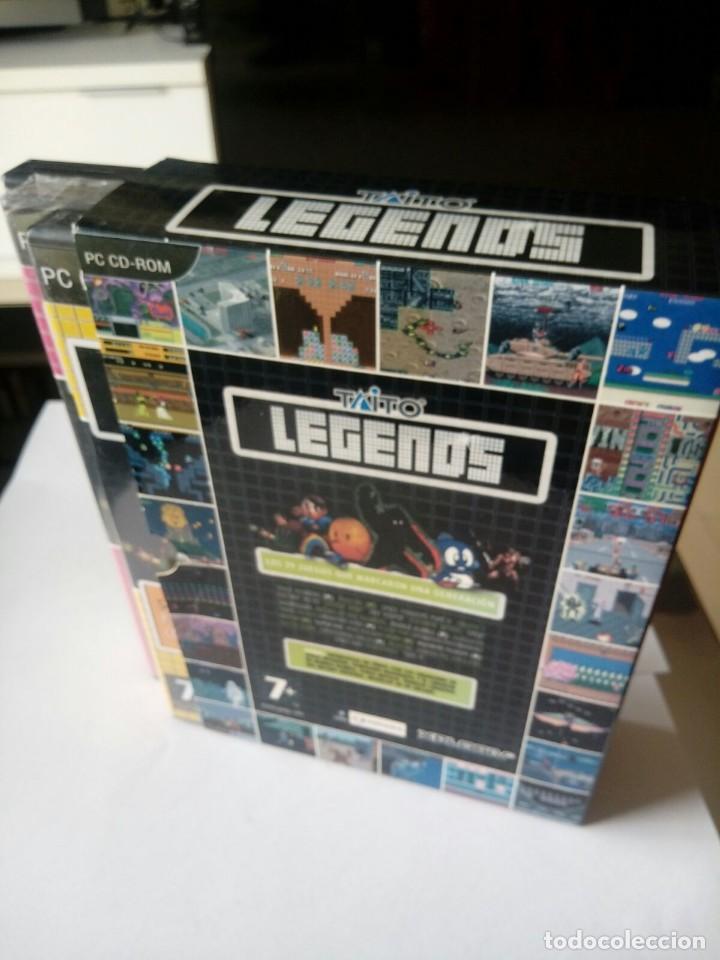 Videojuegos y Consolas: PACK JUEGOS CLASICOS PC. LEGENDS DE TAITO. 2005 - Foto 2 - 116122547