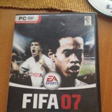 Videojuegos y Consolas: JUEGOPC/DVD ROM FIFA 07. Lote 116763704