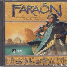 Videojuegos y Consolas: VIDEOJUEGO PC FARAÓN CD-ROM 1999 SIERRA. Lote 117396879