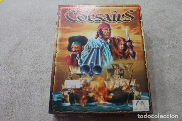 CAJA VACIA JUEGO PC CORSAIRS SOLO CAJA (Juguetes - Videojuegos y Consolas - PC)