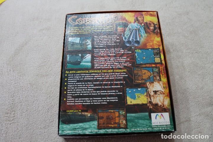 Videojuegos y Consolas: CAJA VACIA JUEGO PC CORSAIRS SOLO CAJA - Foto 2 - 117423275