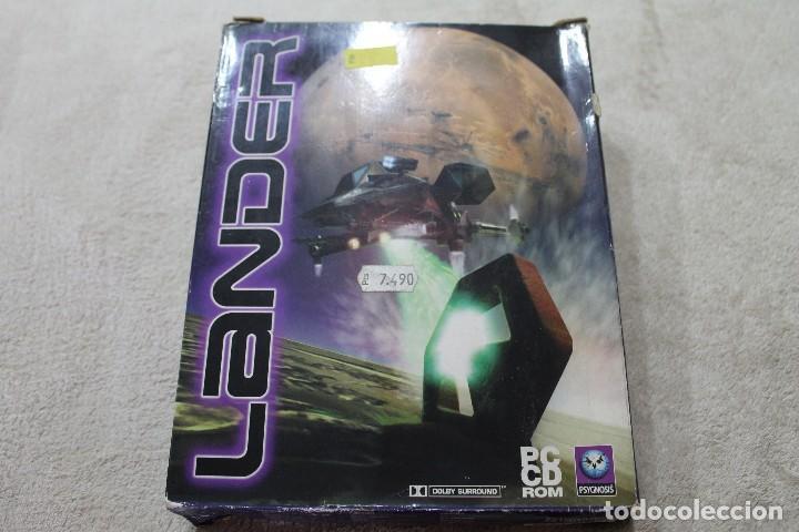 CAJA VACIA JUEGO PC LANDER SOLO CAJA (Juguetes - Videojuegos y Consolas - PC)