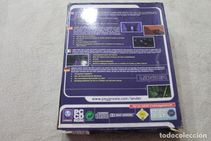 Videojuegos y Consolas: CAJA VACIA JUEGO PC LANDER SOLO CAJA - Foto 2 - 117424115