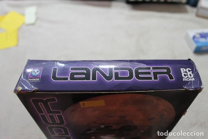 Videojuegos y Consolas: CAJA VACIA JUEGO PC LANDER SOLO CAJA - Foto 4 - 117424115