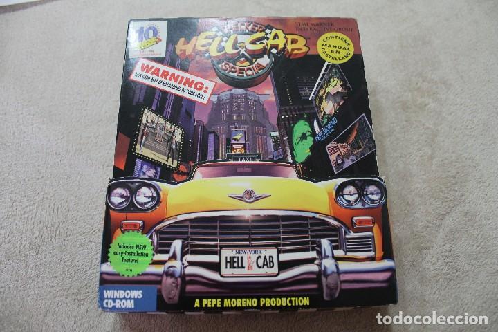 CAJA VACIA JUEGO PC HELL CABCHECKER SECIAL (Juguetes - Videojuegos y Consolas - PC)
