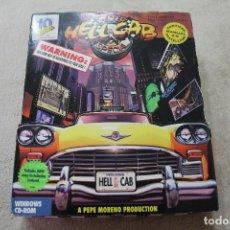 Videojuegos y Consolas: CAJA VACIA JUEGO PC HELL CABCHECKER SECIAL. Lote 117424731