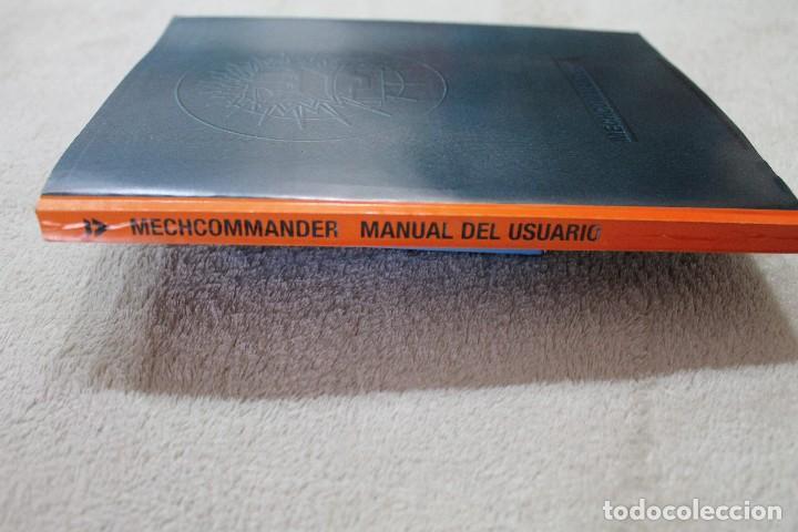 Videojuegos y Consolas: CAJA VACIA JUEGO PC MECH COMMANDER CON MANUAL DE INSTRUCCIONES - Foto 4 - 117425735