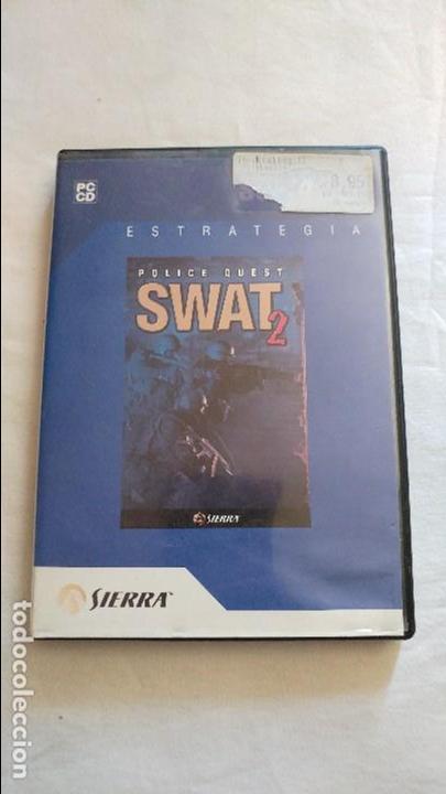 POLICE QUEST SWAT 2 PC ACEPTO OFERTAS ESTADO NORMAL (Juguetes - Videojuegos y Consolas - PC)