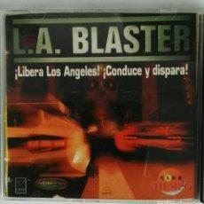 Videojuegos y Consolas: L.A. BLASTER ¡LIBERA LOS ÁNGELES! ¡CONDUCE Y DISPARA! PC. Lote 118033155