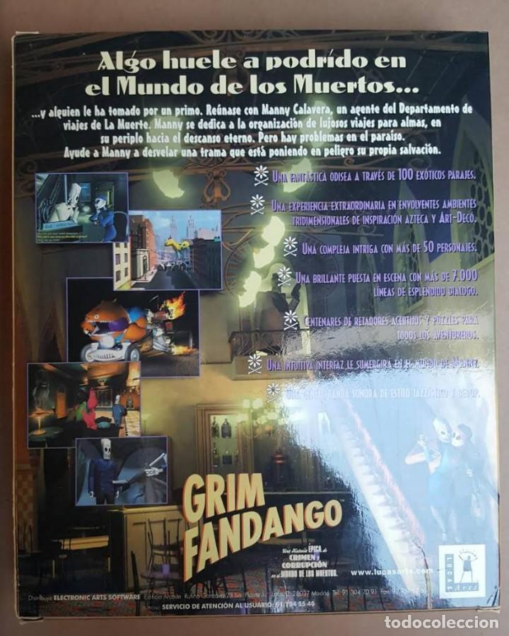grim fandango para pc ( 1ª edición sin marco do - Comprar ...