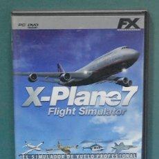 Videojuegos y Consolas: X-PLANE 7, FLIGHT SIMULATOR. EL SIMULADOR DE VUELO PROFESIONAL. Lote 118275527