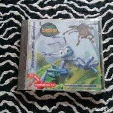 Videojuegos y Consolas: PC CD-ROM DISNEY INTERACTIVE : BICHOS (DISNEY PIXAR). Lote 118360259
