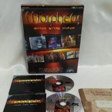 Videojuegos y Consolas: MORPHEUS. JUEGO PC. CON CAJA DE CARTON GRANDE. Lote 118501587