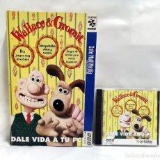 Videojuegos y Consolas: WALLACE & GROMIT .JUEGO PC. CAJA DE CARTÓN GRANDE. Lote 118502247