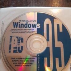 Videojuegos y Consolas: CD ROM. REVISTA SUPER PC 10. PROGRAMAS PARA WINDOWS. OCTUBRE 1995. Lote 118519139