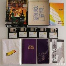 Videojuegos y Consolas: JUEGO PARA PC THE DAGGER OF AMON RA EN DISQUETES VERSIÓN ESPAÑOLA. Lote 118801211