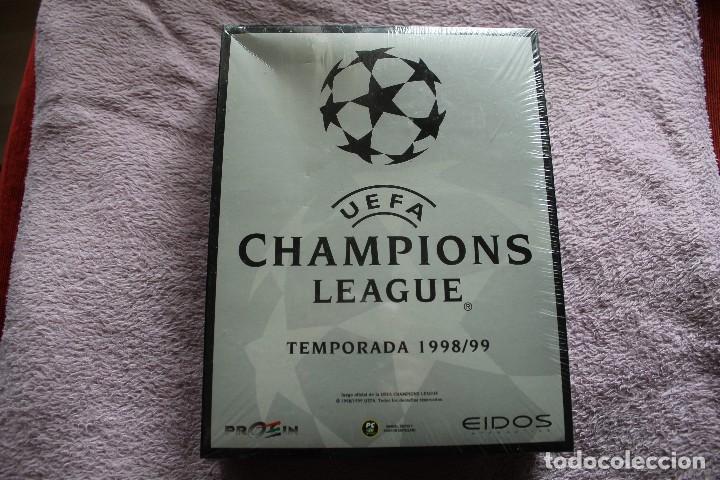 UEFA CHAMPIONS LEAGUE TEMPORADA 1998/99 PC BOX CAJA CARTON PRECINTADA (Juguetes - Videojuegos y Consolas - PC)