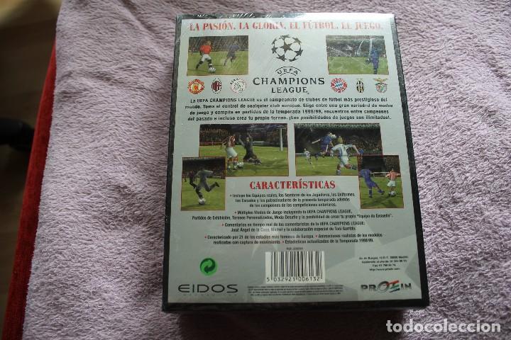 Videojuegos y Consolas: UEFA CHAMPIONS LEAGUE TEMPORADA 1998/99 PC BOX CAJA CARTON PRECINTADA - Foto 2 - 118808903