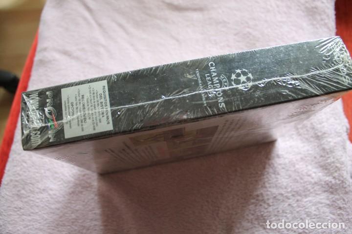 Videojuegos y Consolas: UEFA CHAMPIONS LEAGUE TEMPORADA 1998/99 PC BOX CAJA CARTON PRECINTADA - Foto 3 - 118808903