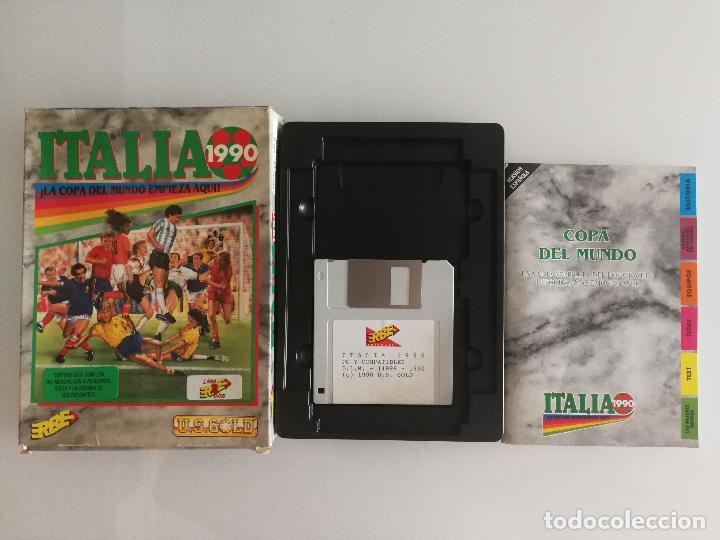 JUEGO PARA PC ITALIA 1990 EN DISQUETE (Juguetes - Videojuegos y Consolas - PC)