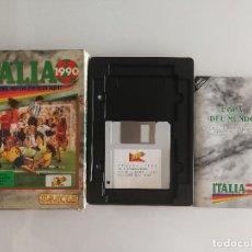 Videojuegos y Consolas: JUEGO PARA PC ITALIA 1990 EN DISQUETE. Lote 118839051